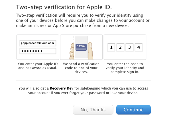 About Two Step Verification