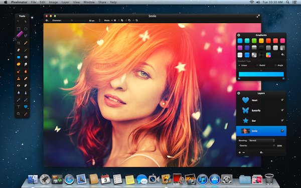 Pixelmator 2.2 Blueberry