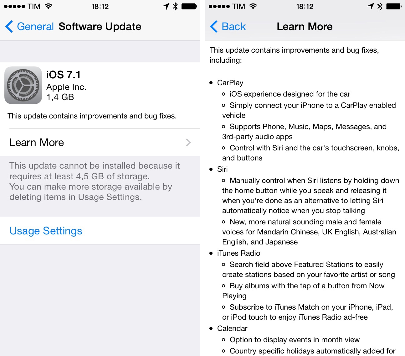 Apple Releases iOS 7.1