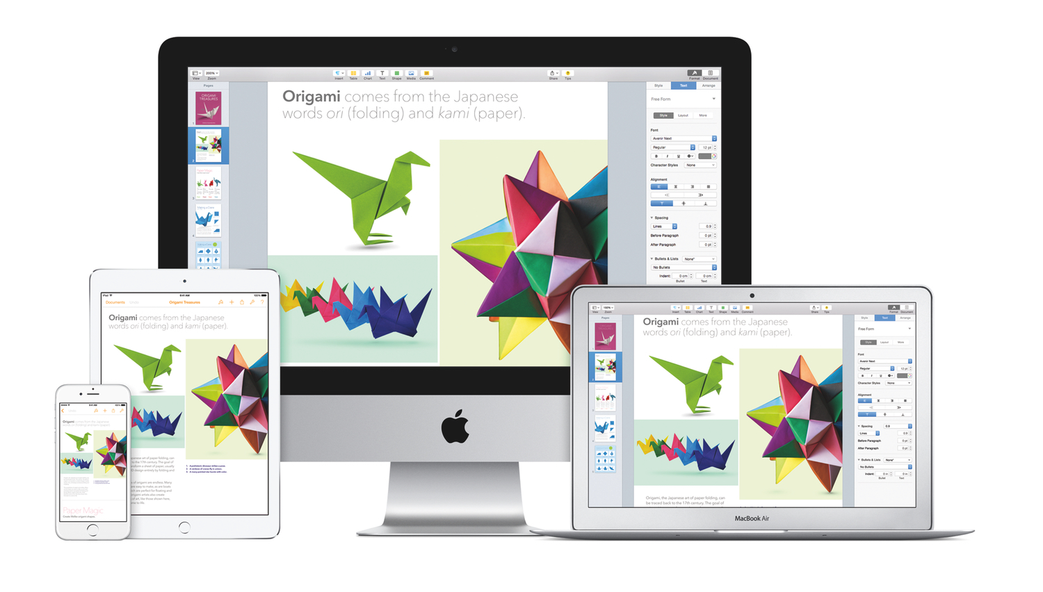Apple Updates iWork Suite with Yosemite Redesign, iCloud Drive Support ...