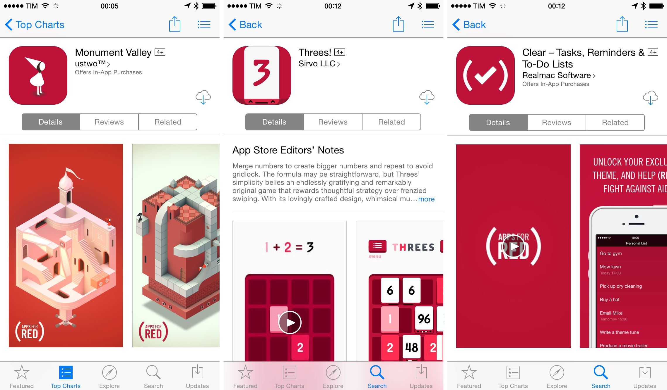 Apple Launches (RED) App Store Promotion, Donating Proceeds to Fight AIDS